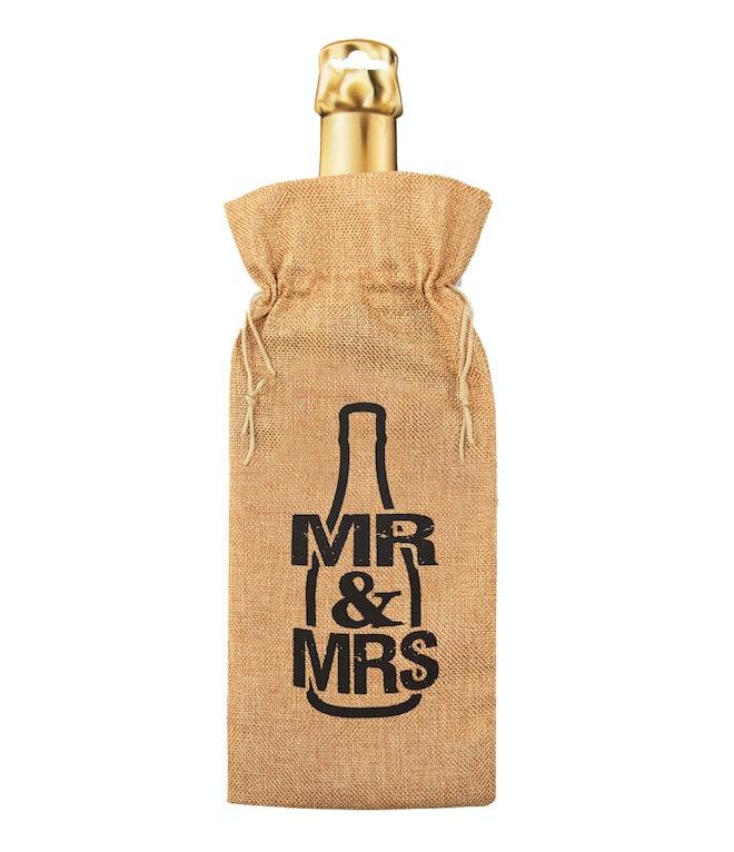 Bottle gift bag - Mr. & Mrs. OP=OP