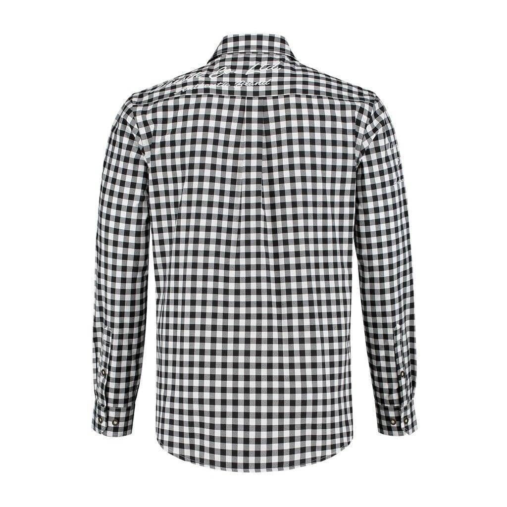Adventure blouse zwart wit