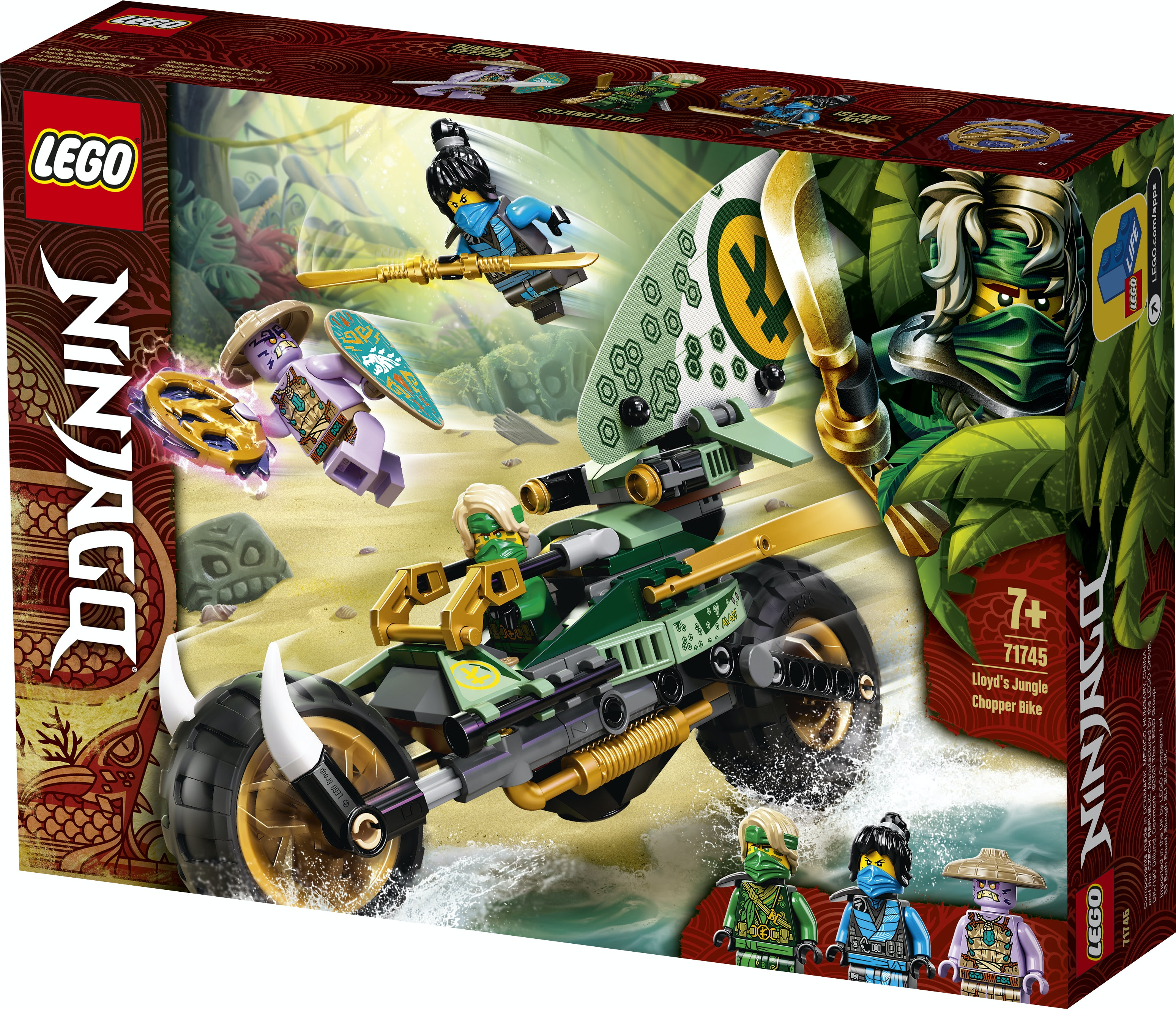 LEGO Ninjago 71745 Lloyd`s Jungle Bike