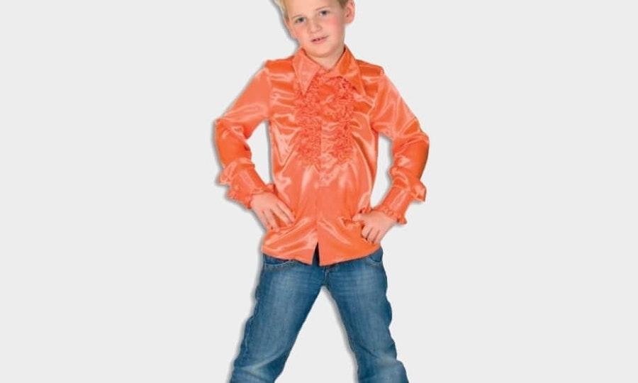 Oranje artikelen voor jongens