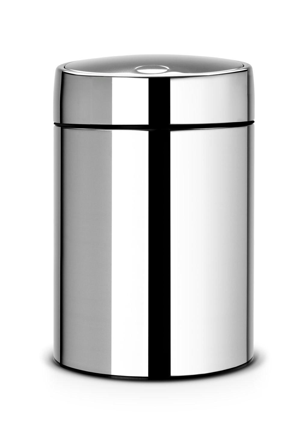 Brabantia Slide Bin Wandafvalemmer 5 L Brilliant Steel