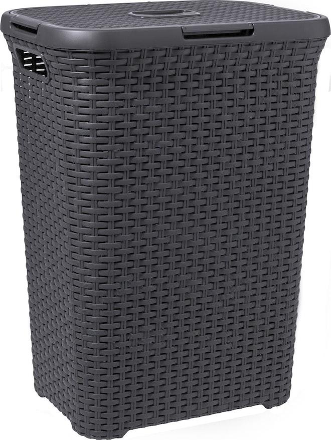 Curver Style wasbox 60 liter antraciet