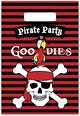 Partybags Piraten 6 stuks - Product thumbnail