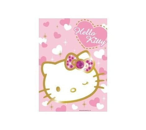Ravensburger puzzel 500 stukjes Sprankelende Hello Kitty op=op