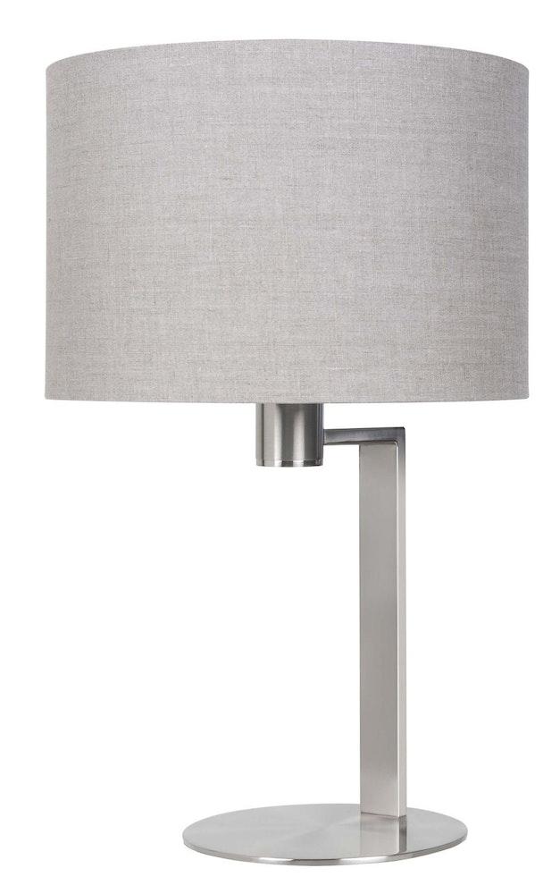 Tafellamp London nikkel-mat