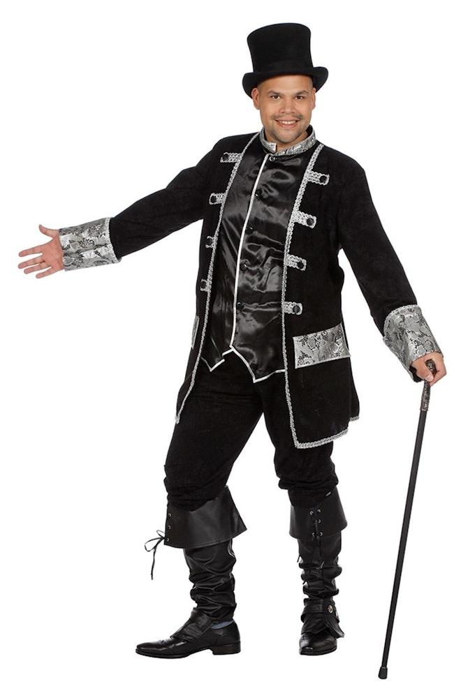 Piraat/Voodoo zwart/zilver