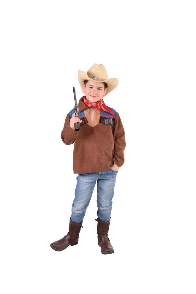 Cowboyhemd jeans op=op