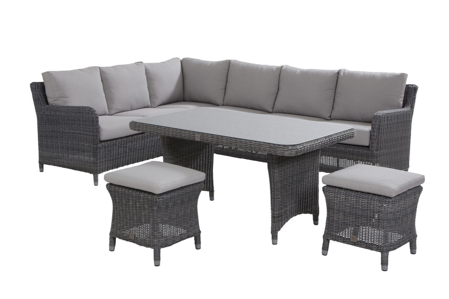 4 Seasons Outdoor Indigo Lounge -dining Rock