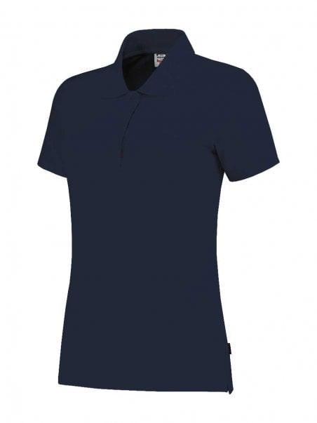 Poloshirt slim-fit dames Navy
