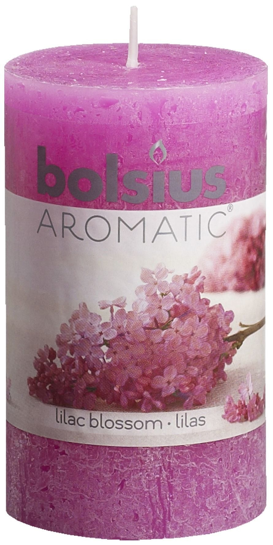 Geurstompkaars 100x58 cm Lilac Blossom