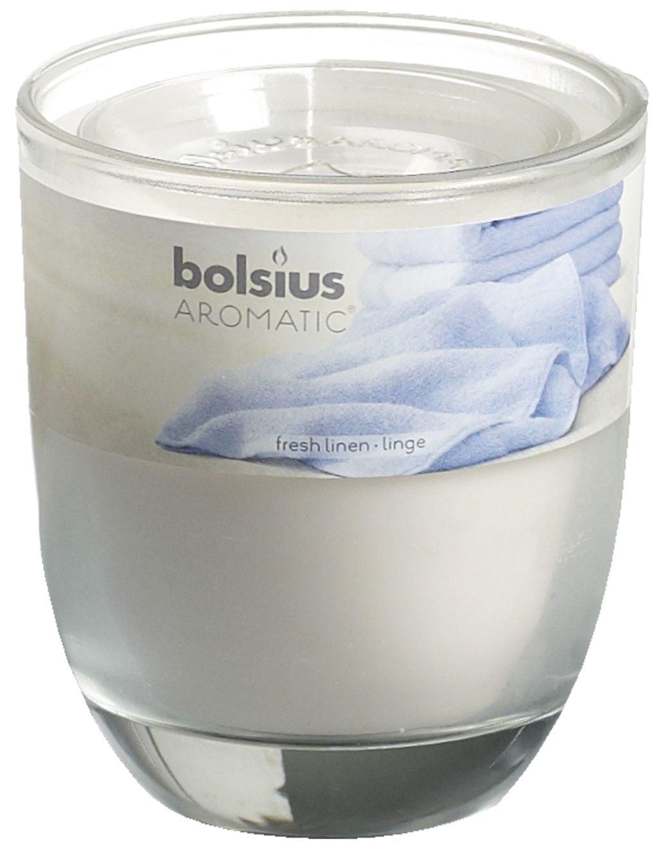 Bolsius Geurglas gevuld 80-70 Fresh linen