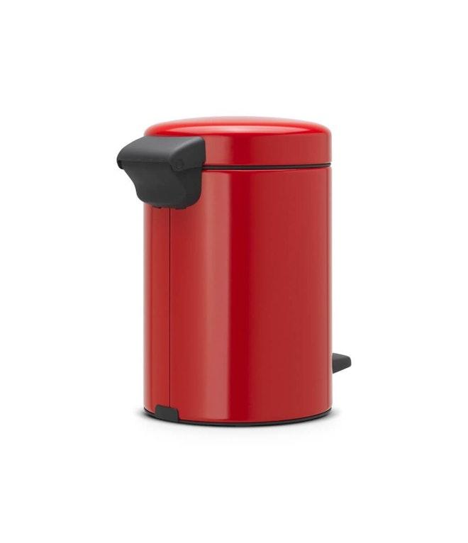Brabantia pedaalemmer newlcon 3 liter Passion Red