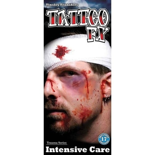 Tattoo Trauma intensive care