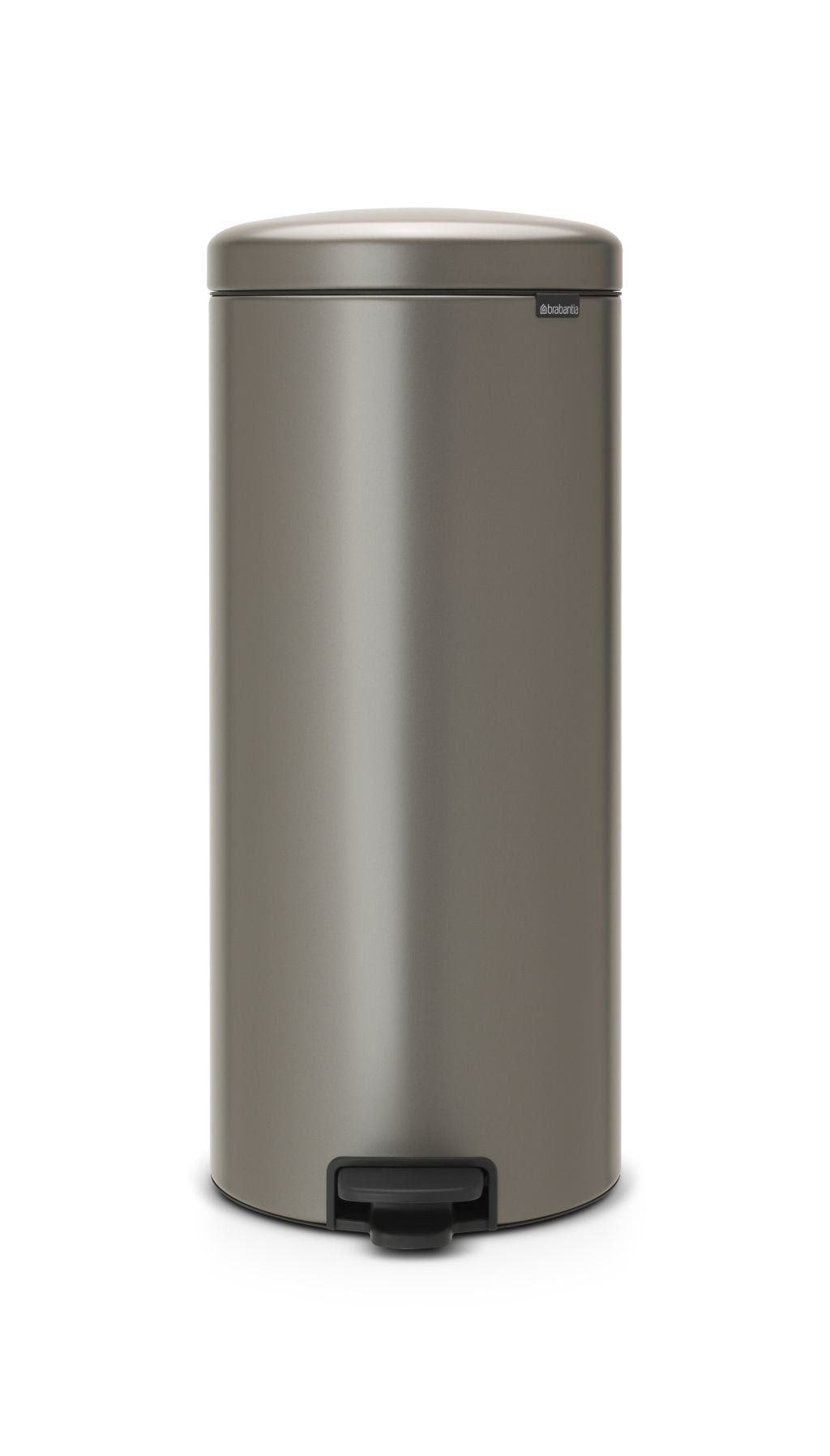 Brabantia New Icon Pedaalemmer 30L Platinum