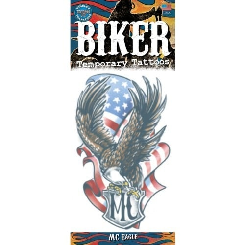 Tattoo biker MC eagle