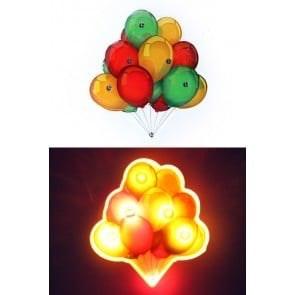 Lightpin tros ballonnen