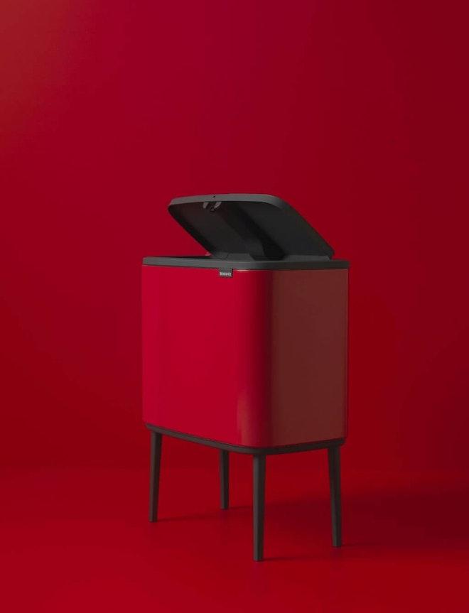 Brabantia Touch bin Bo 3 x 11 liter Passion Red