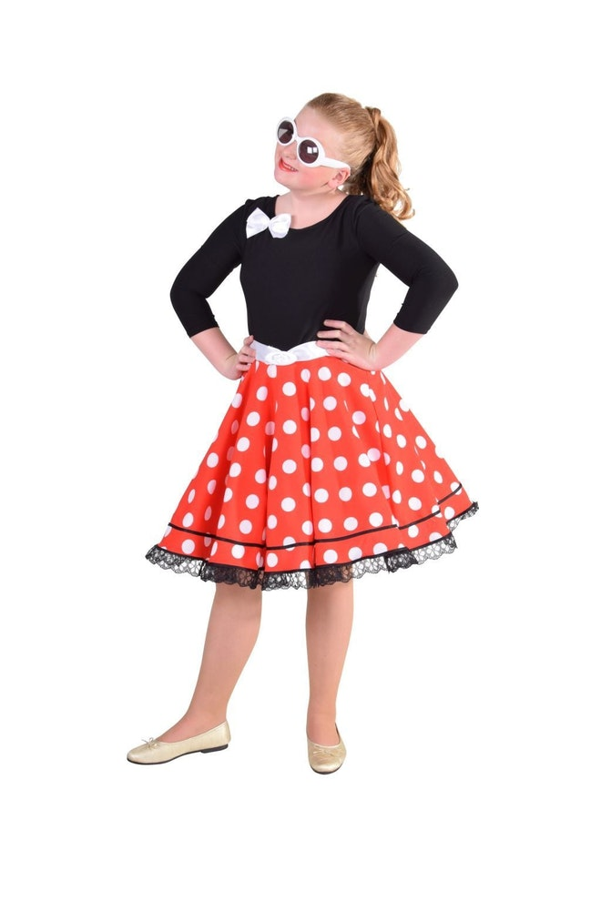 Rock'n roll jurk of Minni mouse op=op