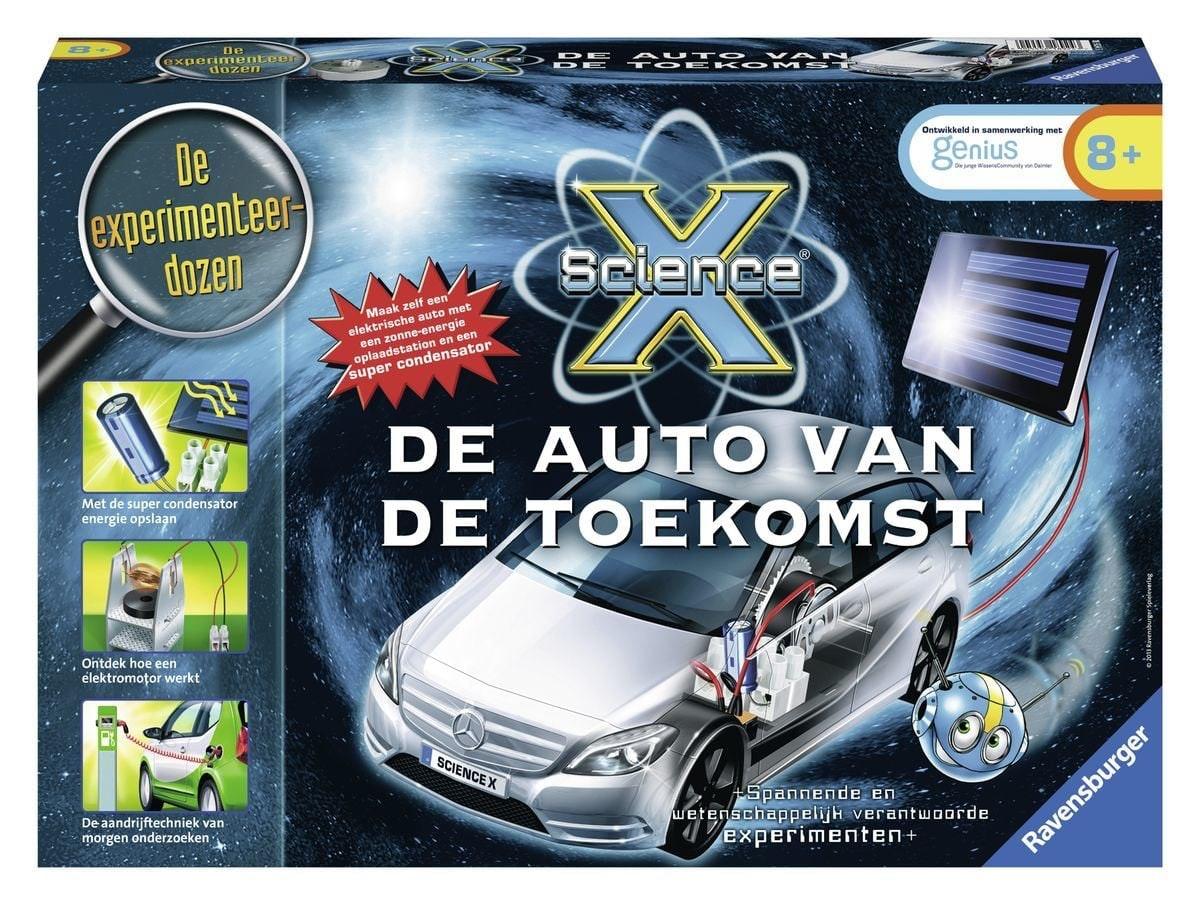 Experimenteerset Science X Auto Van De Toekomst