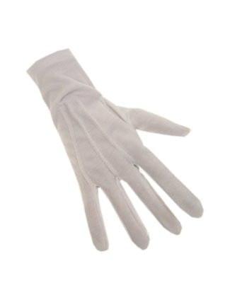 Witte handschoen
