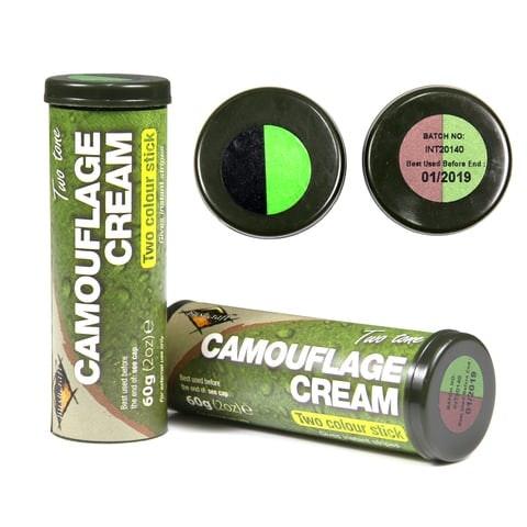 Camo stick zwart groen 60 gr
