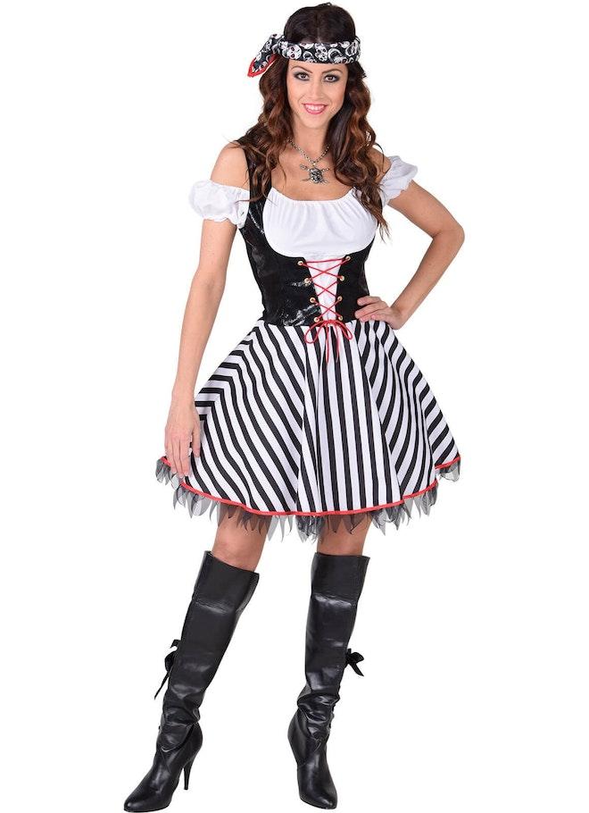 Piraat dame kort