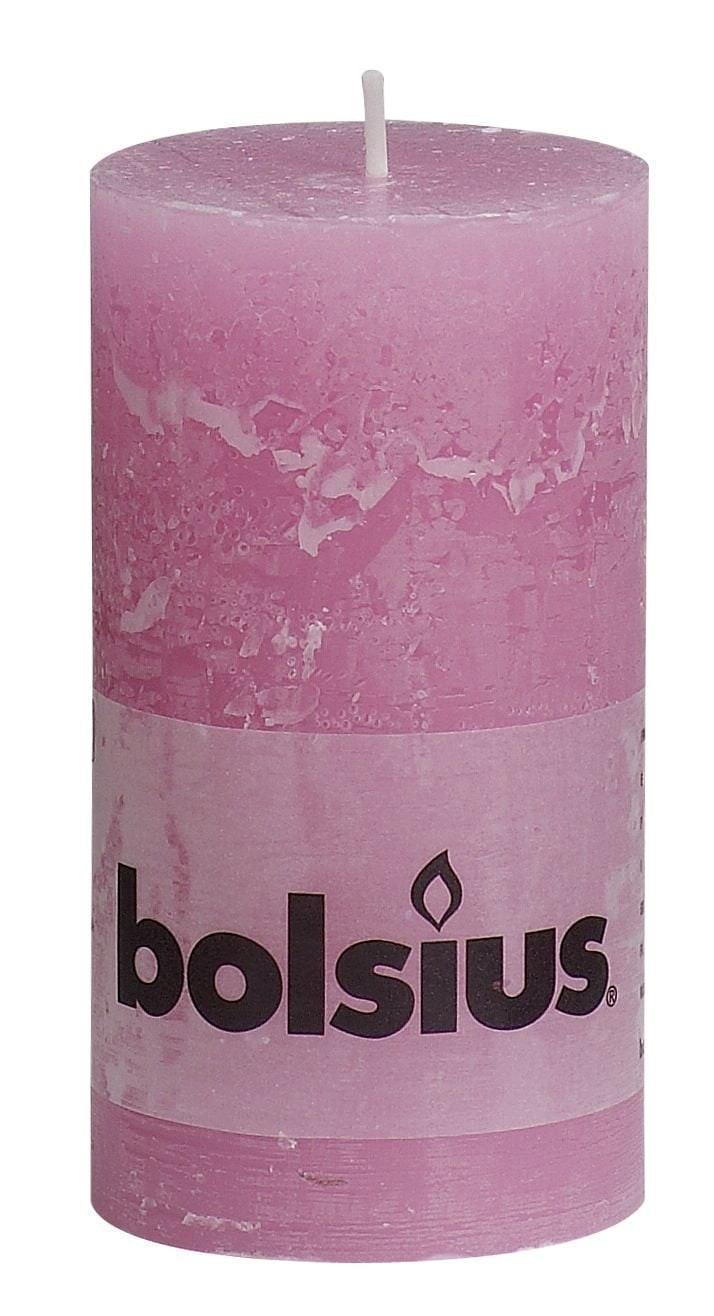 Bolsius Stompkaars rustiek Roze 130-68