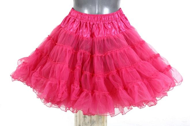 petticoat long pink