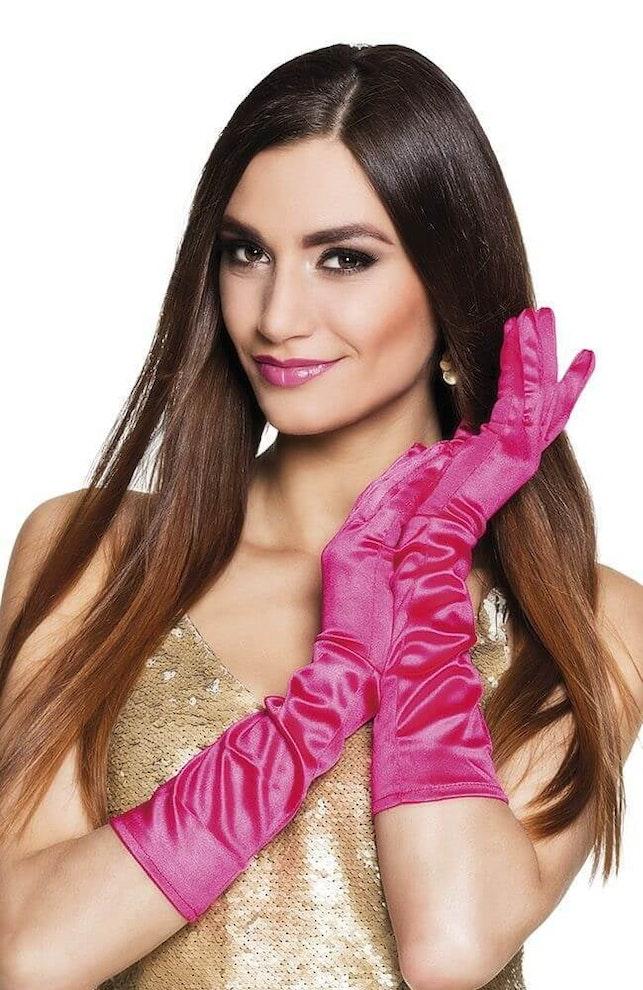 Handschoenen pink
