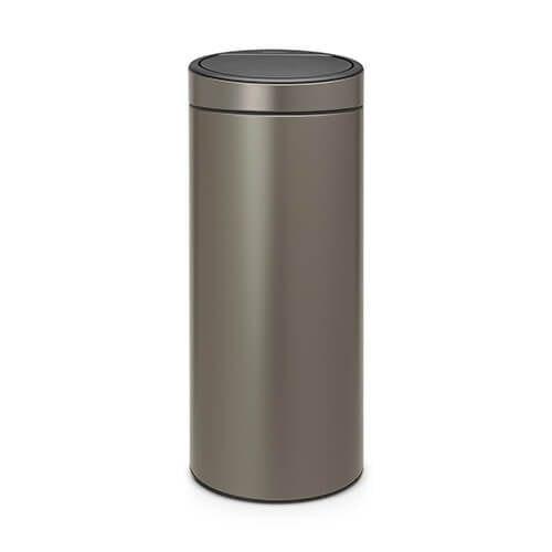 Brabantia Touch Bin New afvalemmer 30 liter platinum