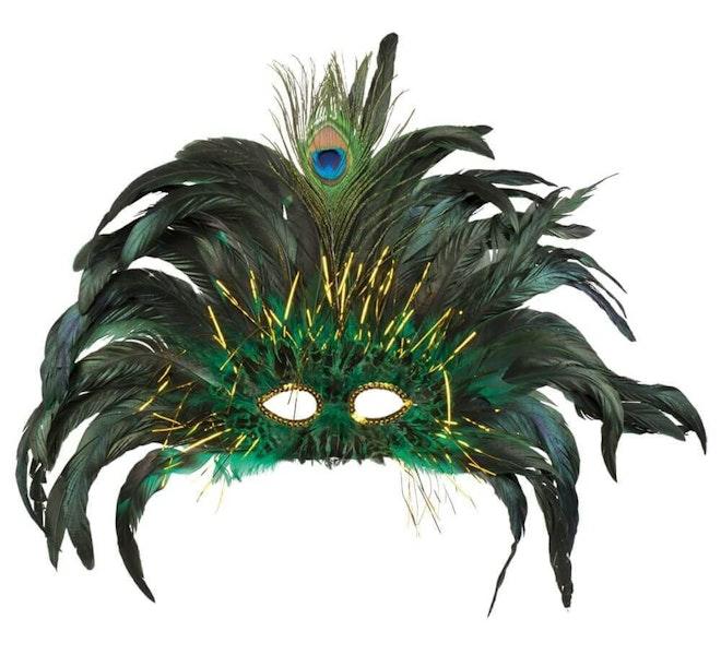 Oogmasker peacock queen