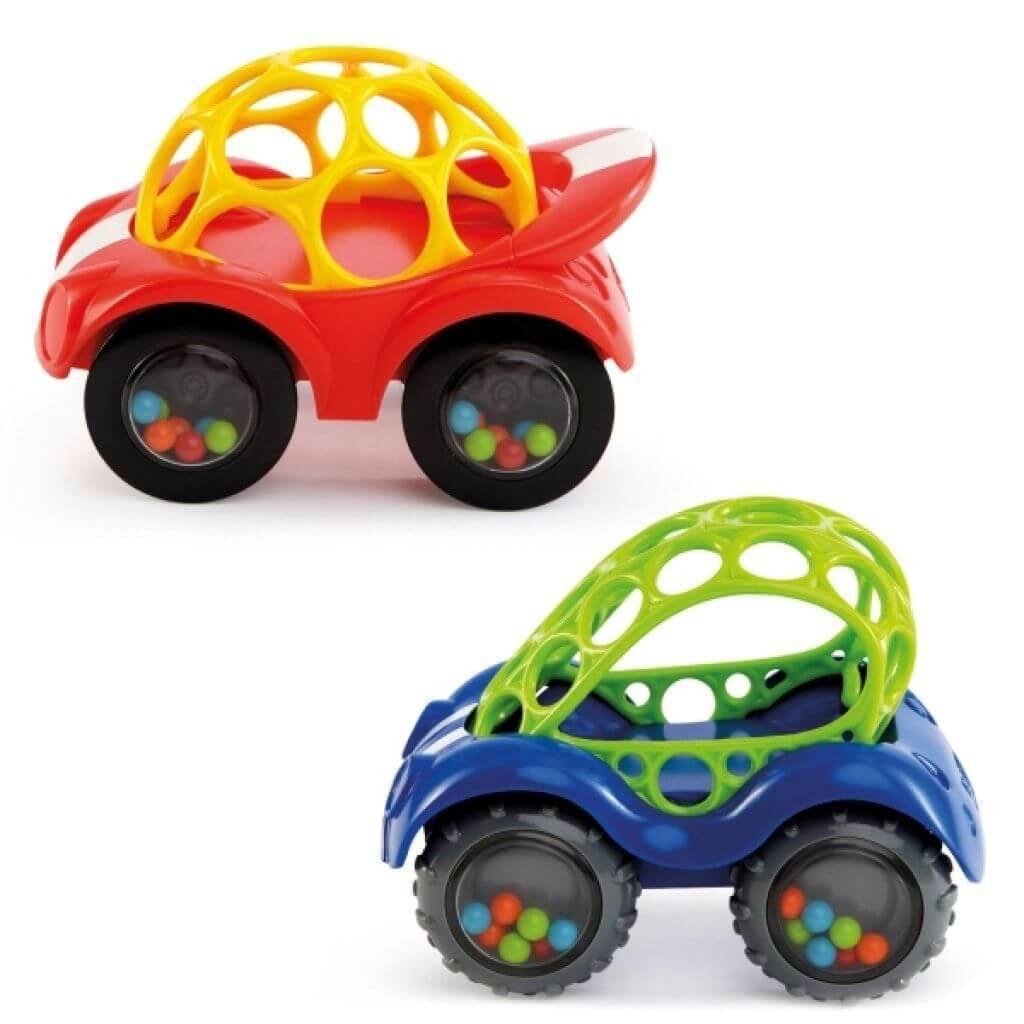 Bright starts oball rammelaar auto, assortiment