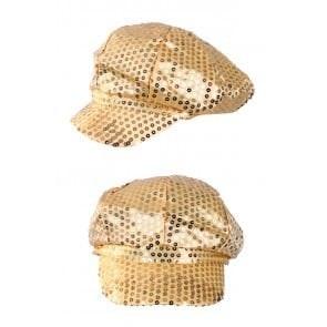 Pet glitter pailletten goud