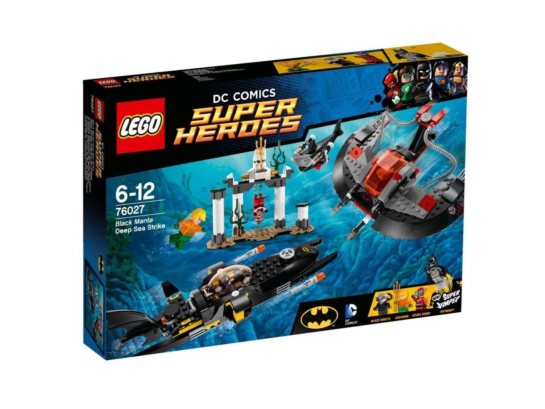 LEGO DC Comics Black Manta diepzee-aanval 76027