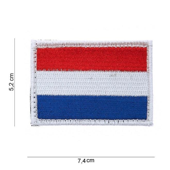 embleem stof vlag Holland