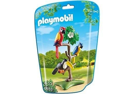 Playmobil 6653 Papegaaien Met Toekan