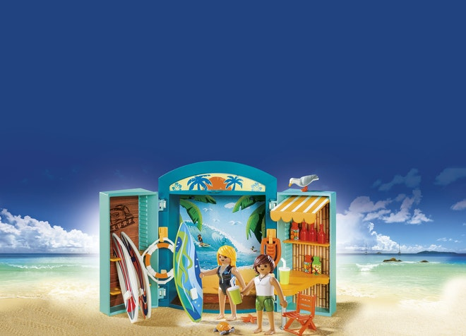 Playmobil® 5641 Speelbox Surfshop op=op