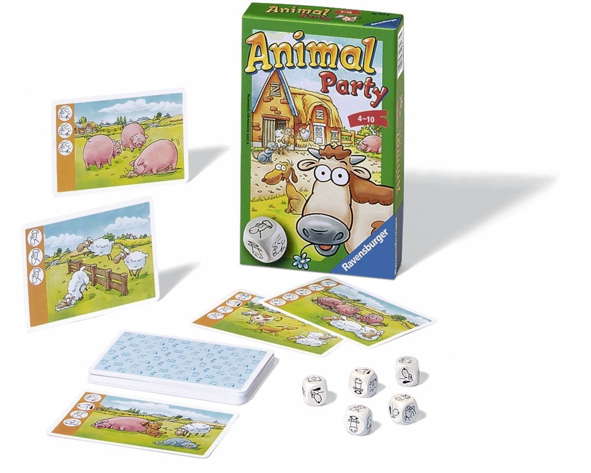 Animal Party Pocketspel