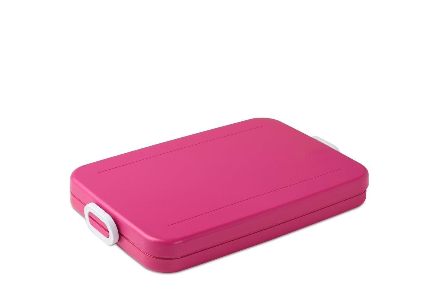 Rosti Mepal Lunchbox Take a Break Flat Roze