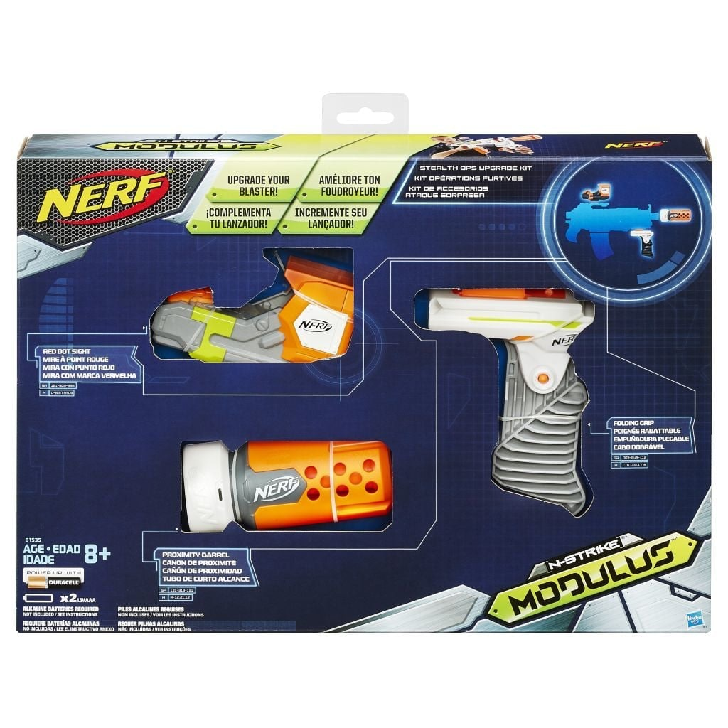 Nerf Modulus Secret Agent Kit