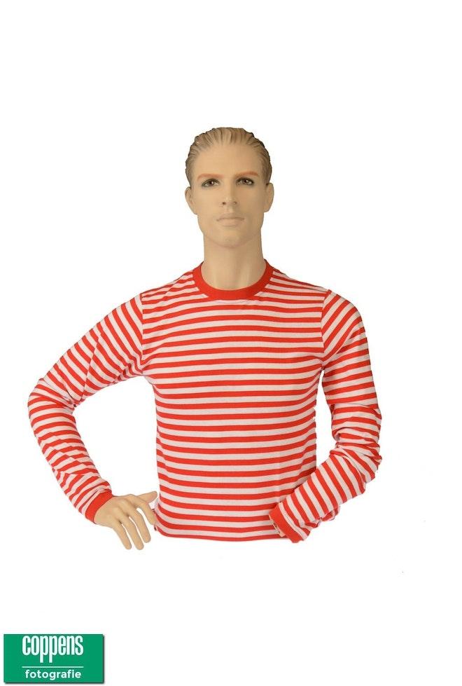 Dorus shirt rood wit