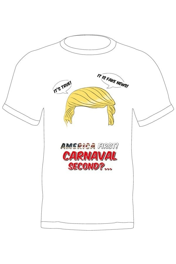 Trump America first carnaval second