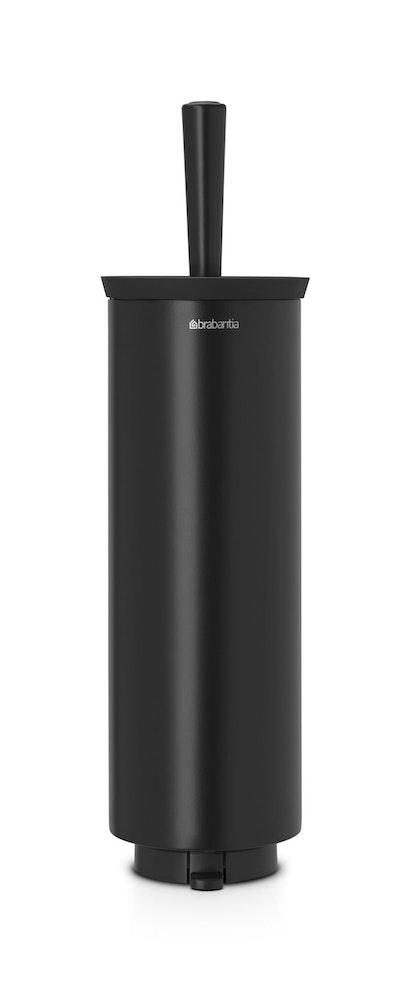 Brabantia toiletborstel met houder 'stainless steel' matt black