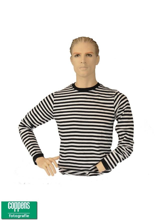 Dorus shirt zwart wit
