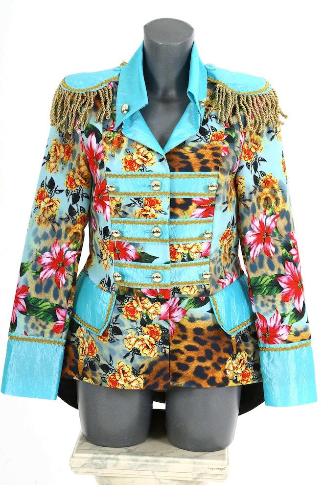 Panther flower mint jas