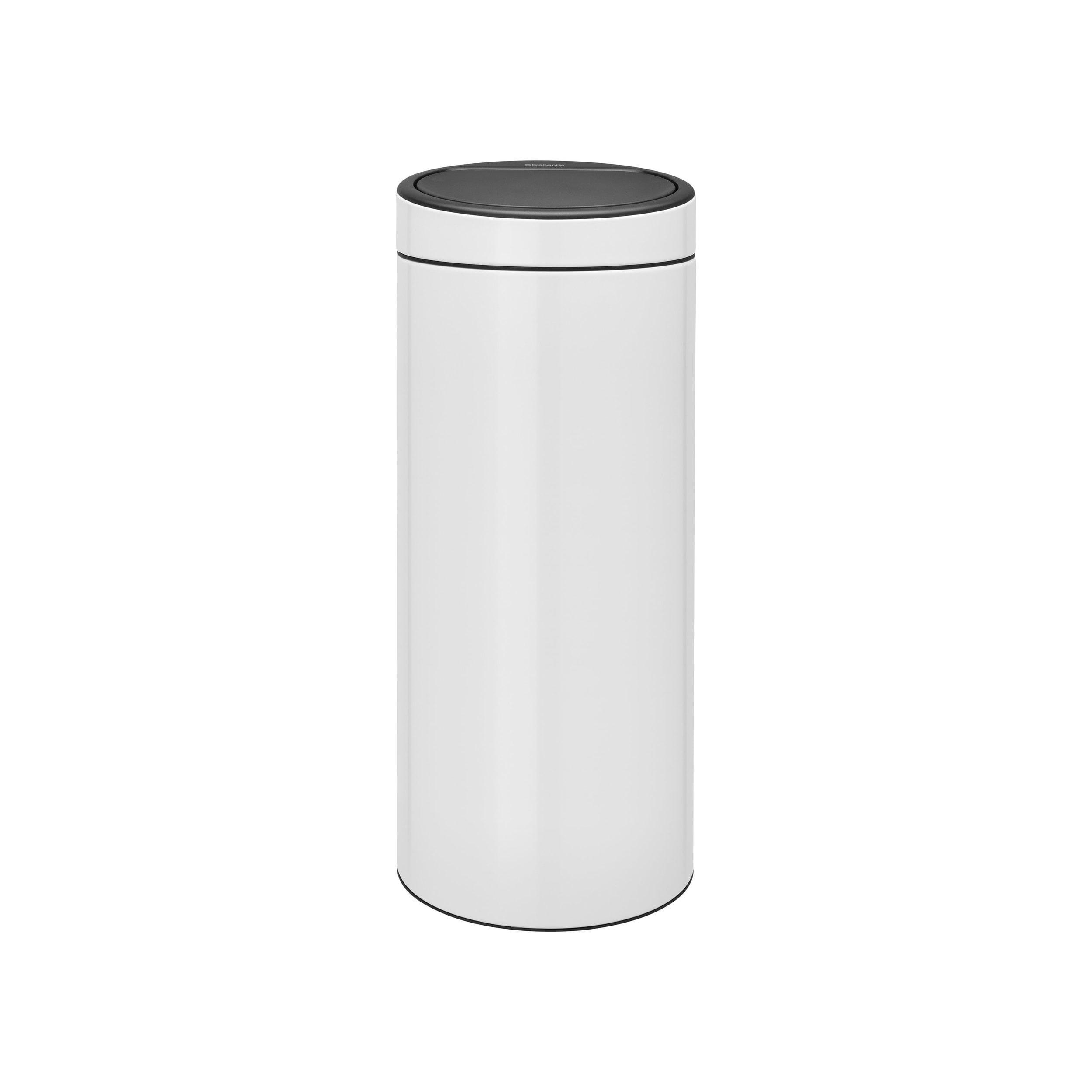 Brabantia Touch Bin Prullenbak 30 Liter Wit