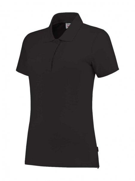 Poloshirt slim-fit dames Darkgrey