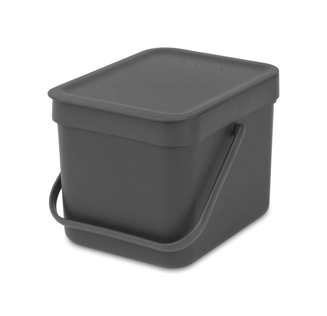 Brabantia afvalemmer, 6 liter