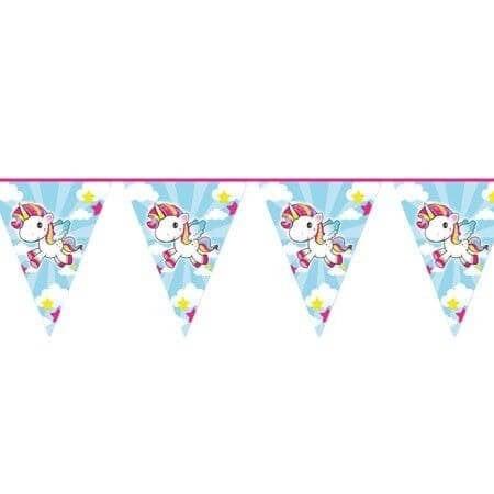 Vlaggenlijn unicorn 10mtr