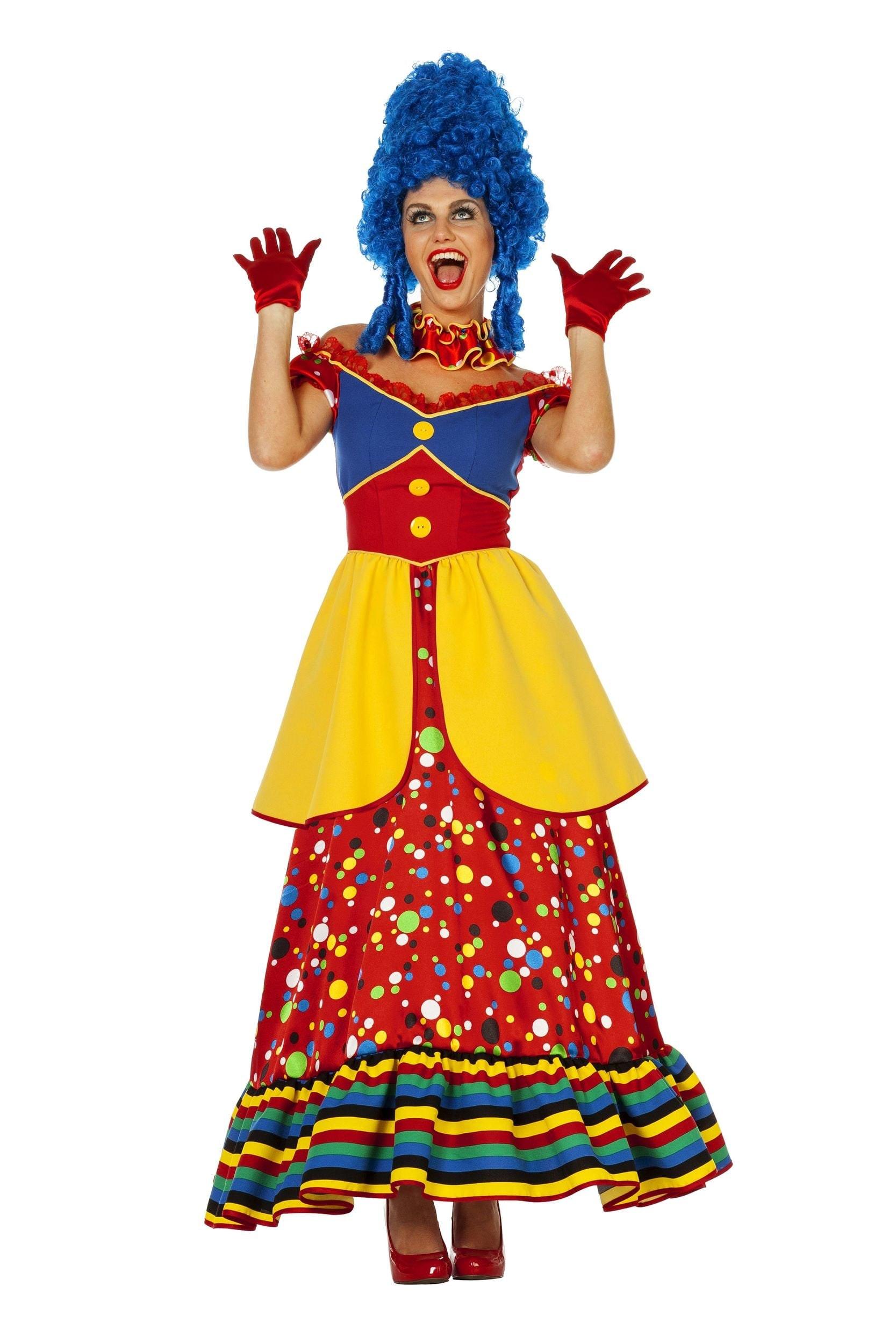 Clownsjurk op=op